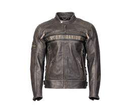 Harley-Davidson Passing Link leather jacket front