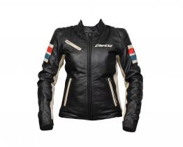 Dainese Lola D1 leather jacket front