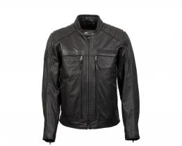 Harley-Davidson Synthesis Pocket System leather jacket front