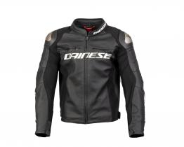 Dainese Racing 3 leather jacket front