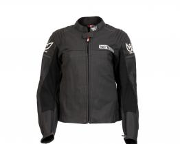 Berik Ladies Airflow leather jacket front