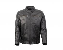 Harley Davidson Swing Arm 3-in-1 leather jacket front