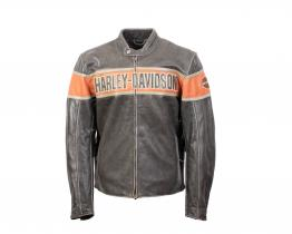 Harley Davidson Victory Lane leather jacket front
